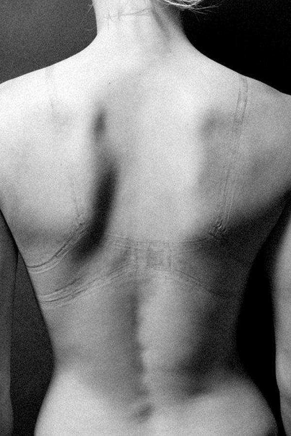 Отпечаток на теле