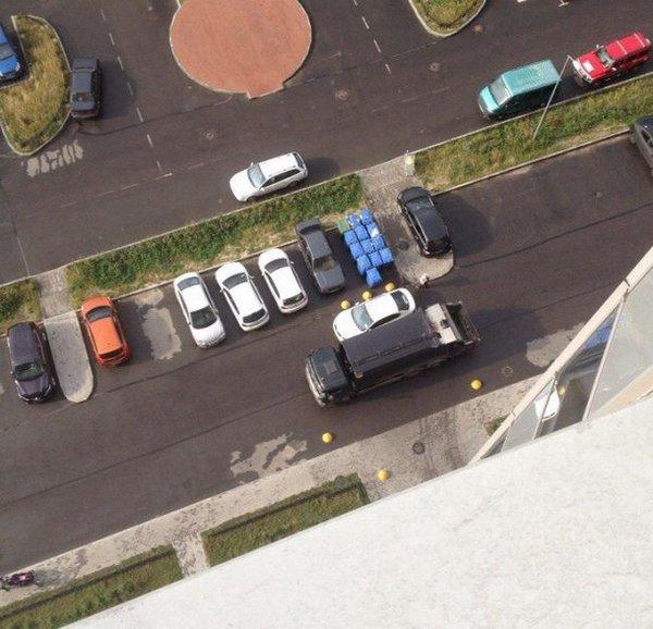 Не паркуйся у мусорки