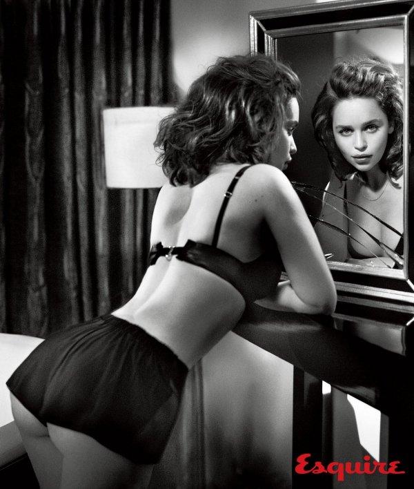 Эмилия Кларк - самая сексуальная!