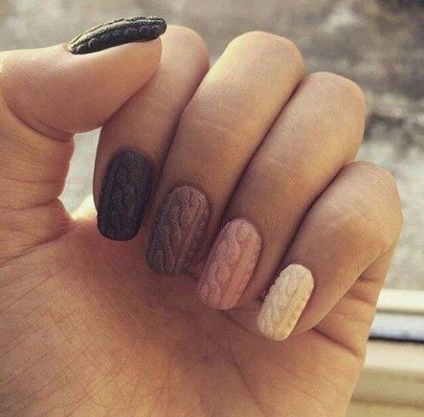Вязание ногти фото