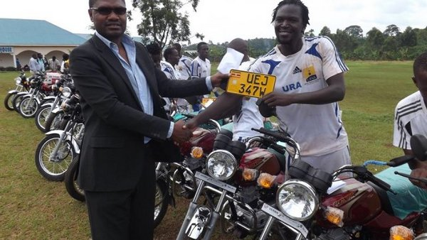 Мотоциклы футболистам