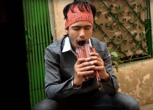 138 карандашей во рту