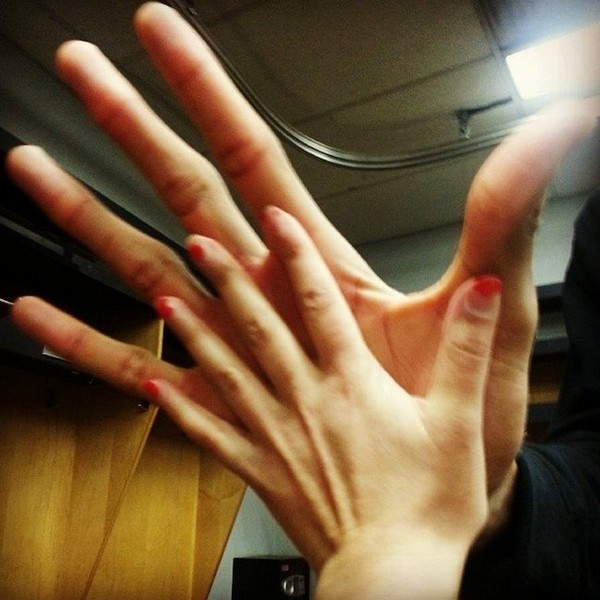 Рука баскетболиста