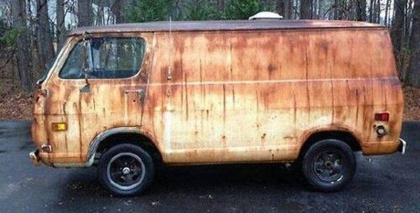 Перерождение старого фургона