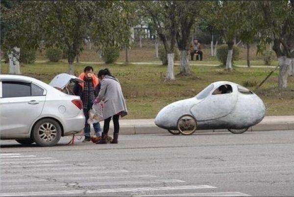 Китайский велоавтомобиль