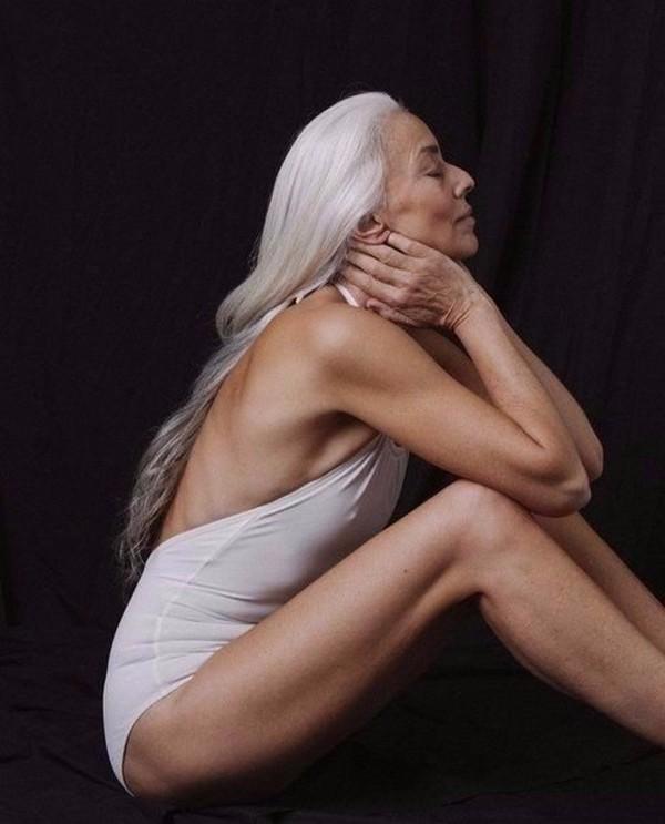 60-летняя модель