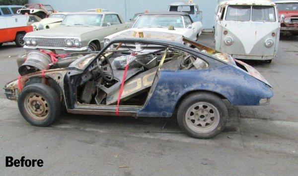 Из старой машины