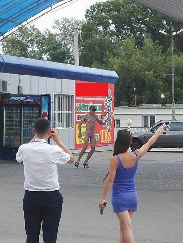 Бак бензина за бикини