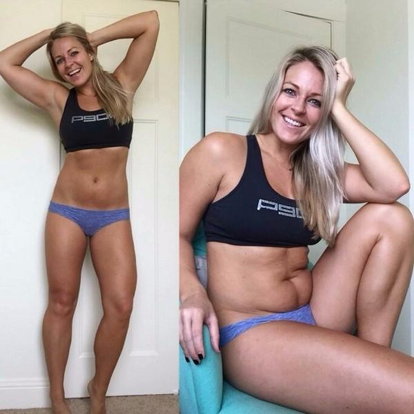Фитнес-модель в реале