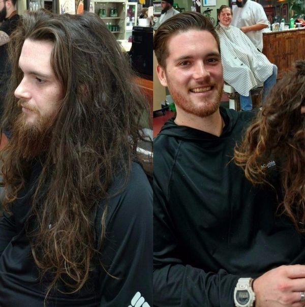 Причёска меняет человека