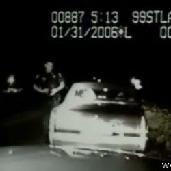 Видео - Наезд на полицейского