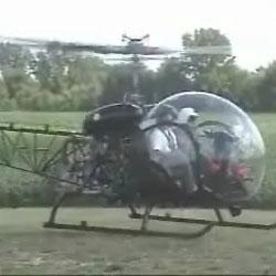 Авария вертолета - Видеокатастрофы