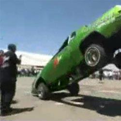 Машина-попрыгунчик - Видеоприколы