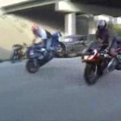 Аварии с мотоциклистами - Видео