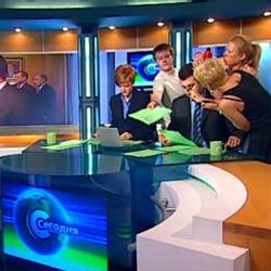 Гримеры в прямом эфире НТВ - Видеоприколы