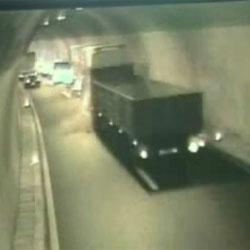 Авария в туннеле - Видеоприколы