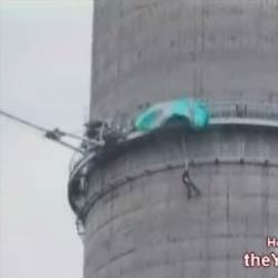 Неудачный прыжок с парашютом