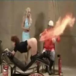 Огненная женщина - Видеоприколы
