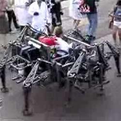 Гигантский механический паук : Транспорт будущего