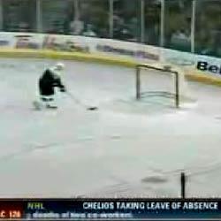 Хоккей : Промахнулся в пустые ворота с 1 метра