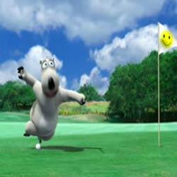 Golf : Прикольные приключения медвежонка