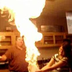 Огненная пена - Видеоприколы