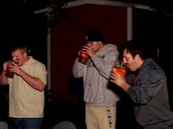 Литр пива за 8 секунд