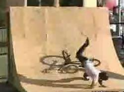 Падения велосипедистов